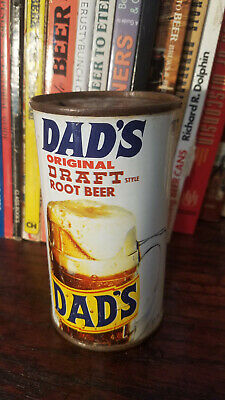 Dad's Original Draft Style Root Beer 12oz Flat Top Soda Can  Coca-Cola Chicago