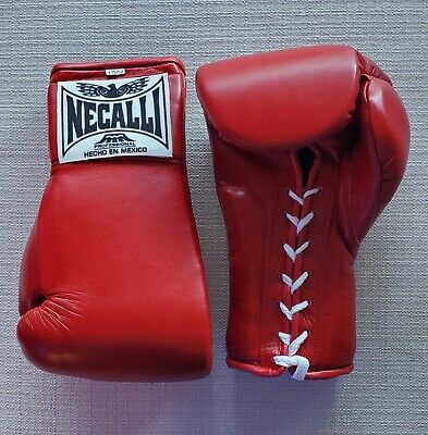 Necalli Professional Sparring/Training Red Boxing Gloves 10oz Made in Mexico NEW