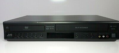 JVC HR-XVC18 DVD/VCR Combo Tested Working No Remote