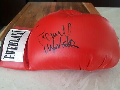 Pernell Whitaker Signed Everlast Boxing Glove Hologram Proof