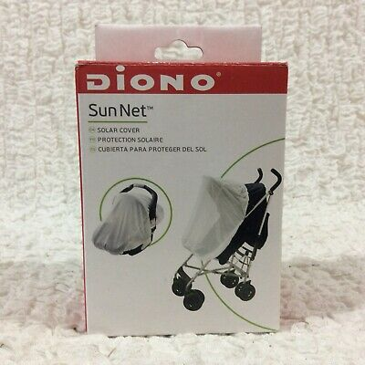 NEW Diono Sun & Insect Net for Stroller Car Seats & Baby Carriers White