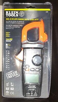 Klein Tools CL800 AC/DC Auto-Ranging Digotal Clamp Meter, Brand New