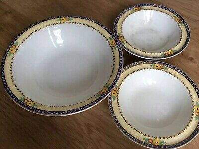 Allertons vintage china dishes/bowls x 2 + 1 free !
