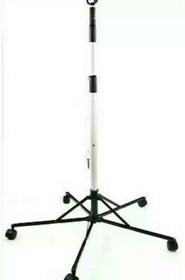 Pitch-It by Sharps Portable IV Pole Stand Foldable with Wheels