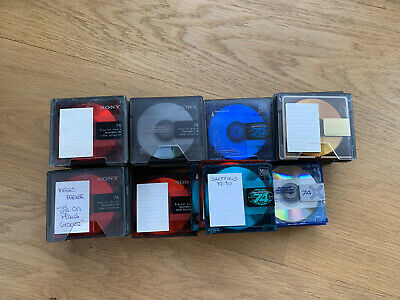 Lot de 61 Minidisc Sony
