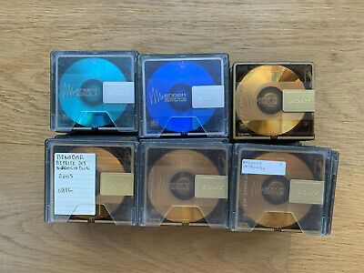 Lot de 55 Minidisc 80 min Sony Color dont Premium