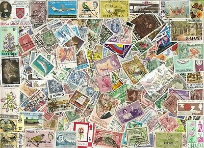 1000 Different Worldwide Stamps from over 120 Different Countries - Good Quality