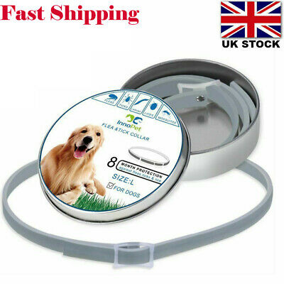 Adjustable Anti Flea&Tick Neck Collar Strap For Dog Cat Pet 8 Months Protection