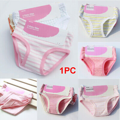 Girl Kids Infants Pants Briefs Knickers Size Age 1-22-34-55-66-7 Years