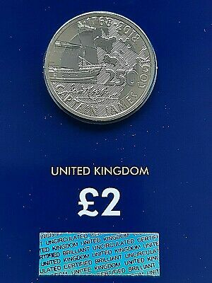 Brand New 2018 Royal Mint Captain James Cook UK £2 Two Pound BUNC Uncirculated