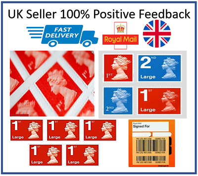 BRAND NEW 1st 2nd Class Postage Stamps - Small Large - Fast Dispatch