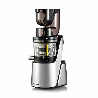 BioChef Quantum Whole Slow Juicer - Wide Mouth Slow Masticating Juicer for Whole