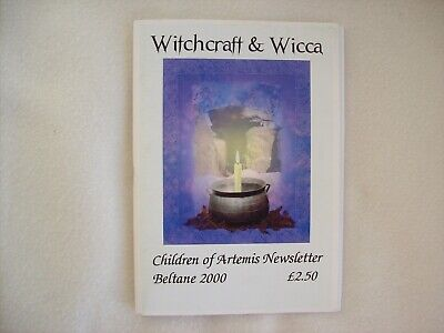 Witchcraft & Wicca Issue 1 New Beltane 2000 Children Of Artemis Newsletter