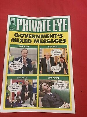 Private Eye magazine #1522 22 May - 4th Jun 2020 Government's mixed messages