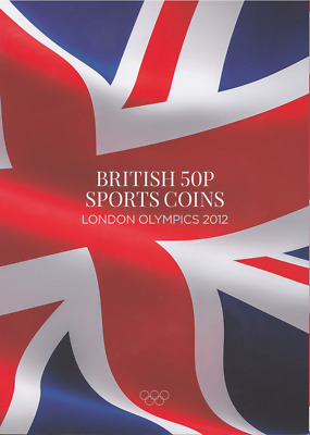 NEW 2017 Edition London Olympic Sports 2012 50p Coin Album Xmas Stocking FR1