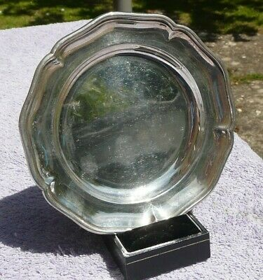 Hallmarked Sterling Solid Silver Dish London 1934 84.3 gms