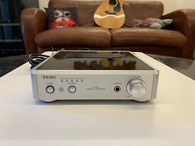 TEAC A-H01 Stereo Amplifier with Integrated DAC 32Bit  Popular and hard to find.