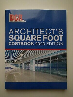 DCR 2020 ARCHITECT'S SQUARE FOOT COSTBOOK BRAND NEW!! Cheap!!!