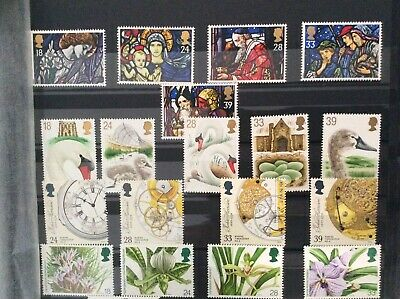 G.B. UNMOUNTED MINT  (7 sets 1992 & 1993) NOW REDUCED