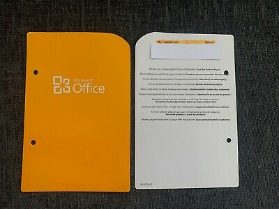 Genuine Microsoft Office 2010 Home and Business Retail Version UK