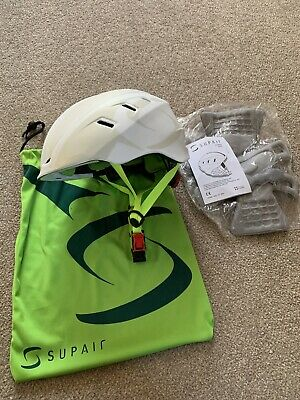 Supair paragliding helmet, one size fits all, new Never Used.