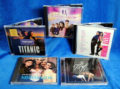 Five CD Movie Soundtracks Bundle - Dirty Dancing 20th, Mermaids, Pretty Woman +