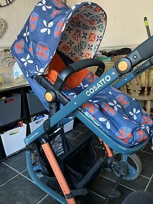 Cosatto Giggle 2,3 in 1 Travel System With Carrycot (tootle Pip) Orange Design