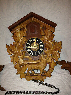 "Circa 1900 German Black Forest Coo Coo Clock, ""Ho:En"" brand, ""Regala"" movement"