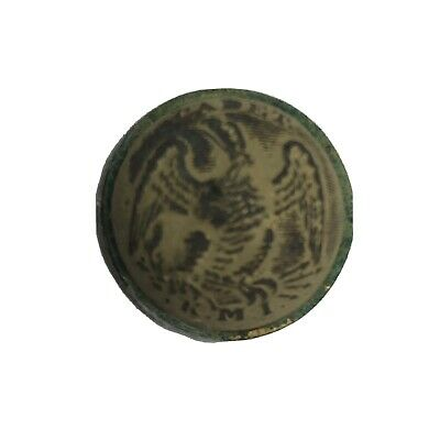 Confederate Kentucky Military Institute Cadet Button