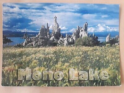 Postcard Mono Lake Giant Salt Lake USA Postcard