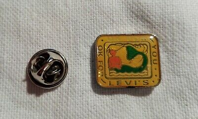 Spilla Pins Destintivo LEVI'S OK For You vintage Anni 90