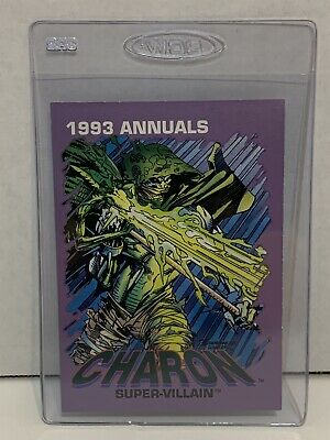 Marvel 1993 Annual Cards Charon Supervillain