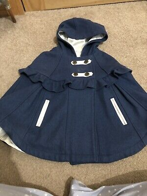 Molly And Jack Cape Coat Aged 3-4
