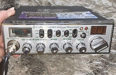 Vintage COBRA CB Radio NIGHT WATCHER SOUND TRACKER