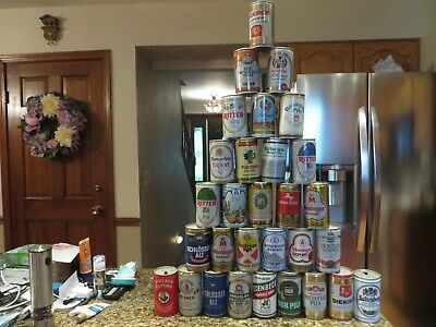 Thirty (30) Foreign Pull Tab Beer Cans