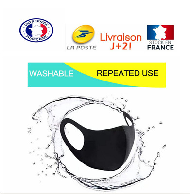 Masque Lavable Protection Respirant 7Psc