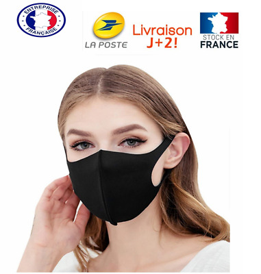 Masque Lavable Protection Respirant 3Psc