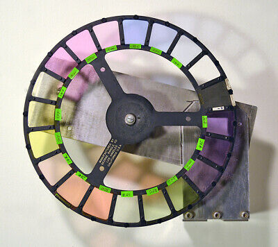 Motion Picture Optical Printer Color wheel