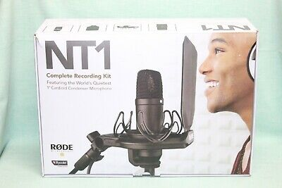 Rode NT1 Kit Condenser Microphone   no ring