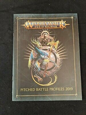 Warhammer Age of Sigmar - Pitched Battle Profiles 2019