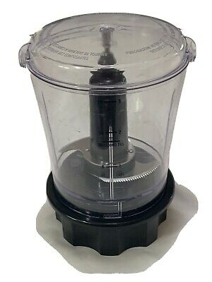 Hamilton Beach Power Elite Replacement Chopper Attachment Bowl Jar Blade
