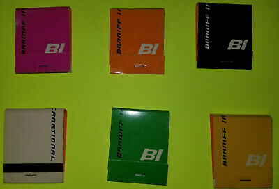 Braniff International Airlines - Matches New- Priced Per Matchbook
