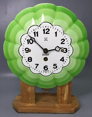 Junghans Plate Clock With Wooden Stand Germany