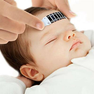 Forehead Fever Thermometer Strip Baby Children Toddler Head Temperature Test SW