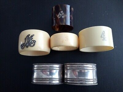 Vintage Collection Of Napkin Rings