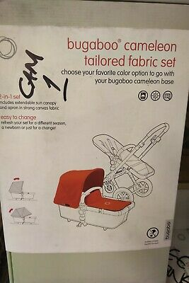 NEW Bugaboo Camleon Fabric Set  BLACK