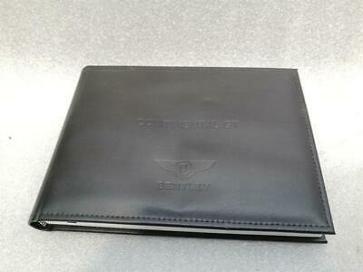 Bentley Continental Gt Owners Book English Manual W12 V8 Mulliner