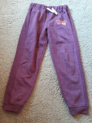 Girls Jogging Bottoms Aged 10 Years In Good Condition