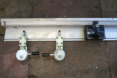 elu flip over saw guide and clamp arm