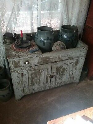 Early To Mid 1800s Bedford County PA Dry Sink